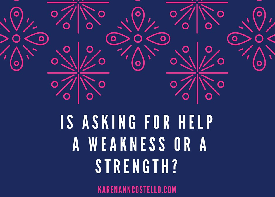 Why I Thought Seeking Help was a Sign of Weakness
